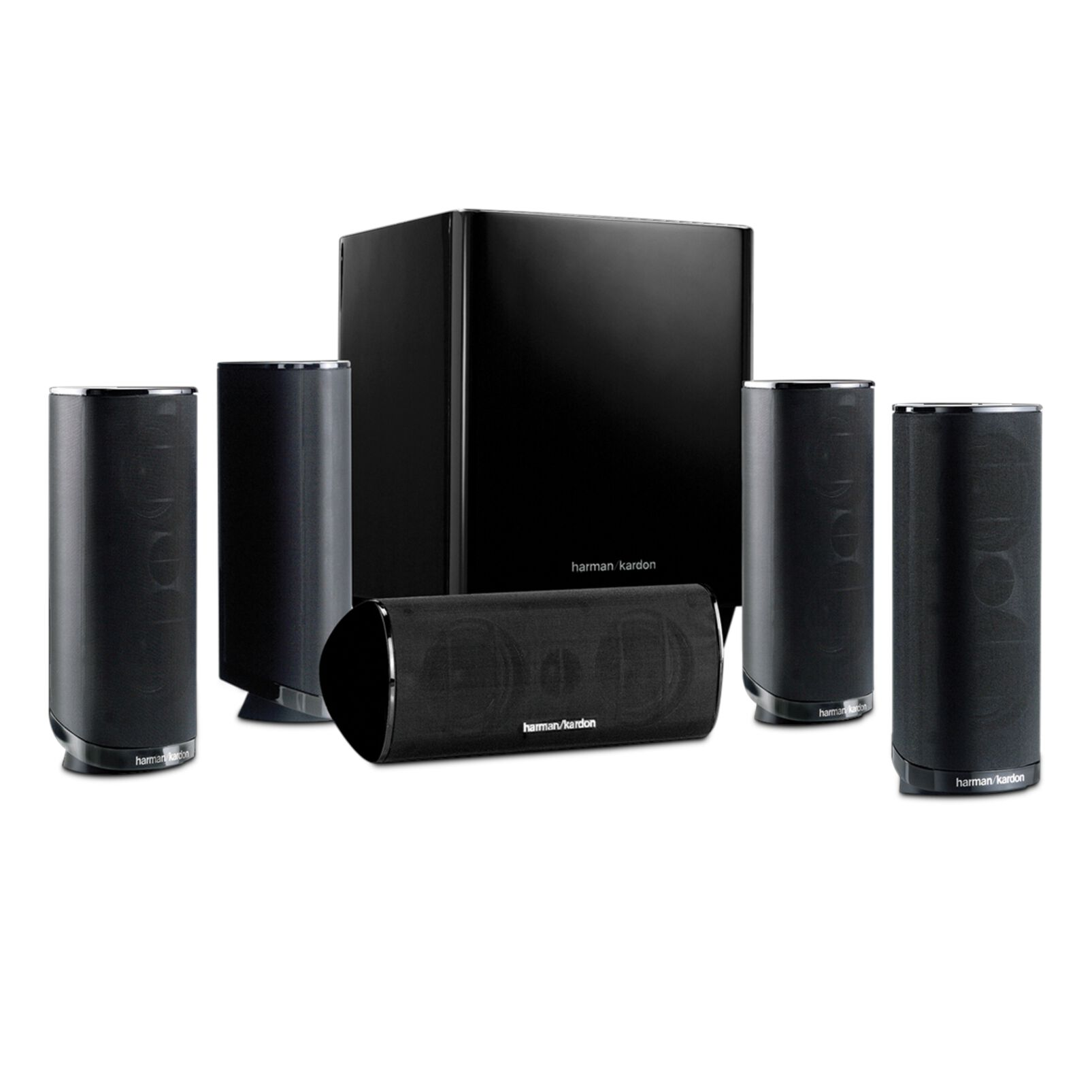 Image of   harman kardon HKTS 16 Black Lacquer