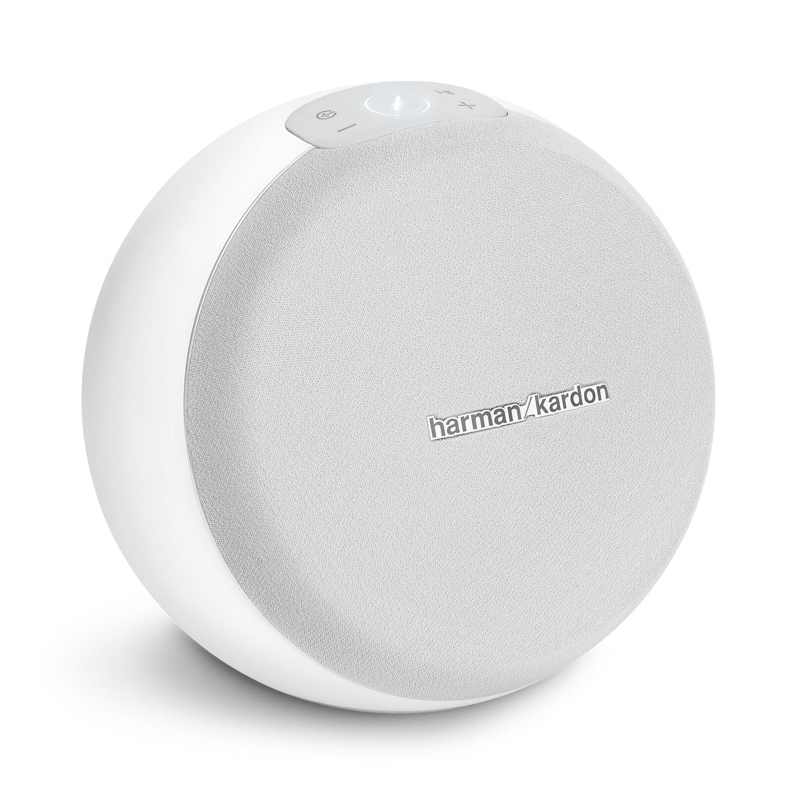 Image of Harman Kardon Omni 10 Plus White Bärbara Högtalare REFURBISHED