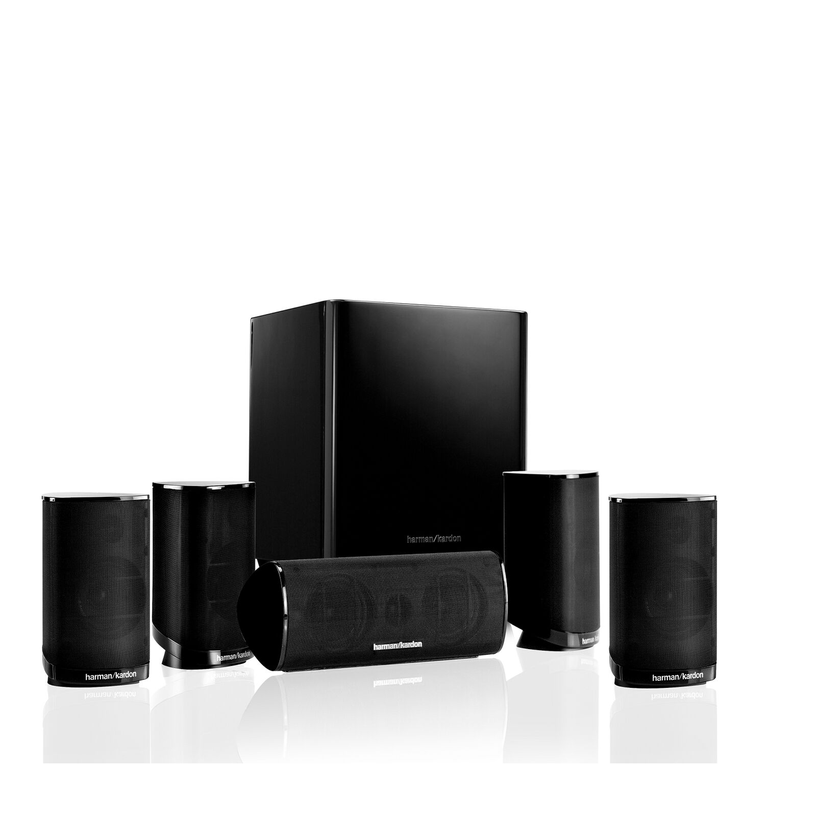 Image of   harman kardon HKTS 9 Black Lacquer