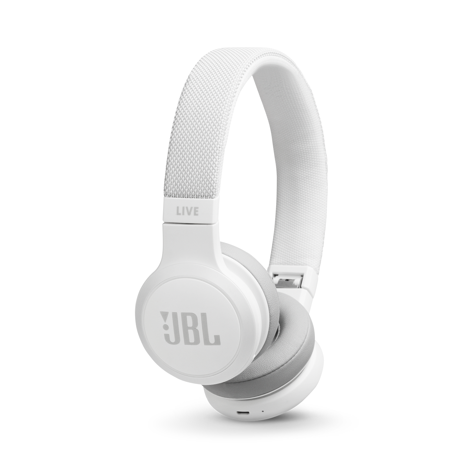 JBL LIVE400BT Product Photo Hero White