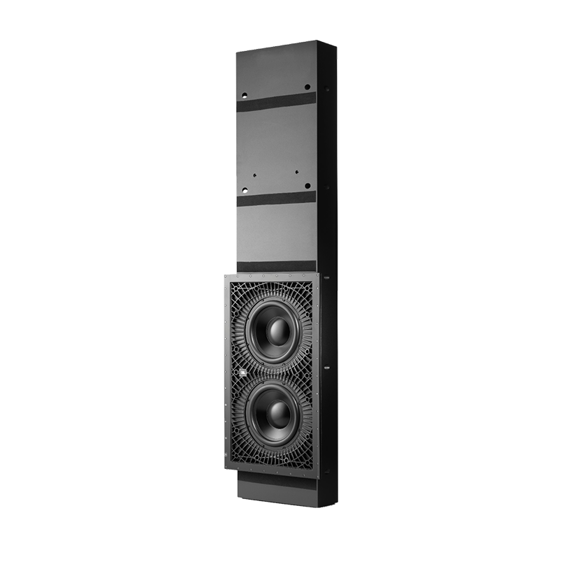 """SSW-3 - Black - Dual 10"""" (250mm) In-wall Passive Subwoofer - Hero"""