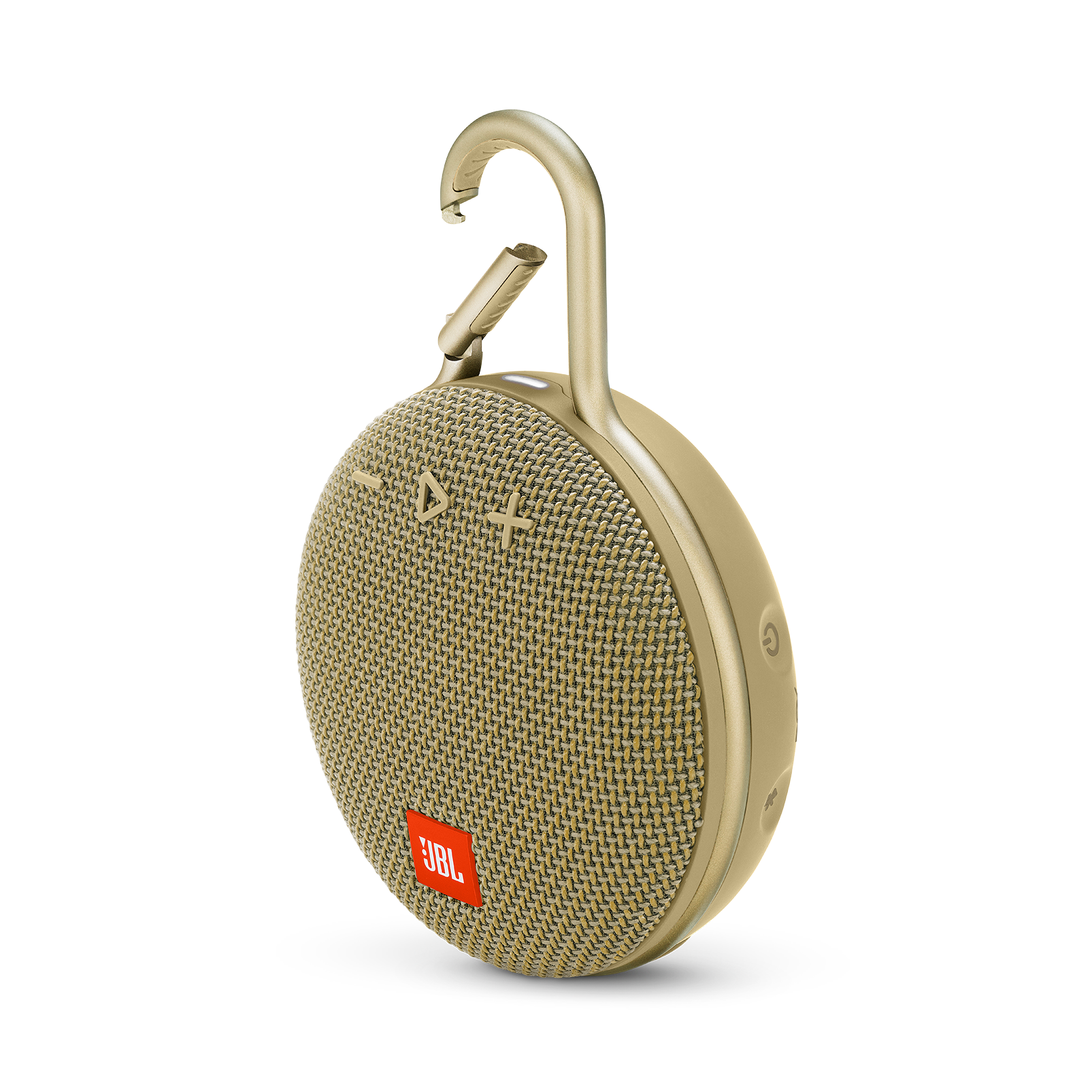 JBL CLIP 3 Desert Sand Bluetooth Højttaler REFURBISHED