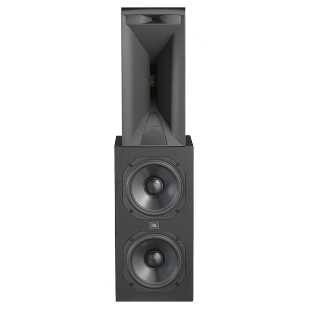 """SAM2LF - Black Lacquer - Dual 8"""" (200mm) Low-frequency Woofer Module - Hero"""