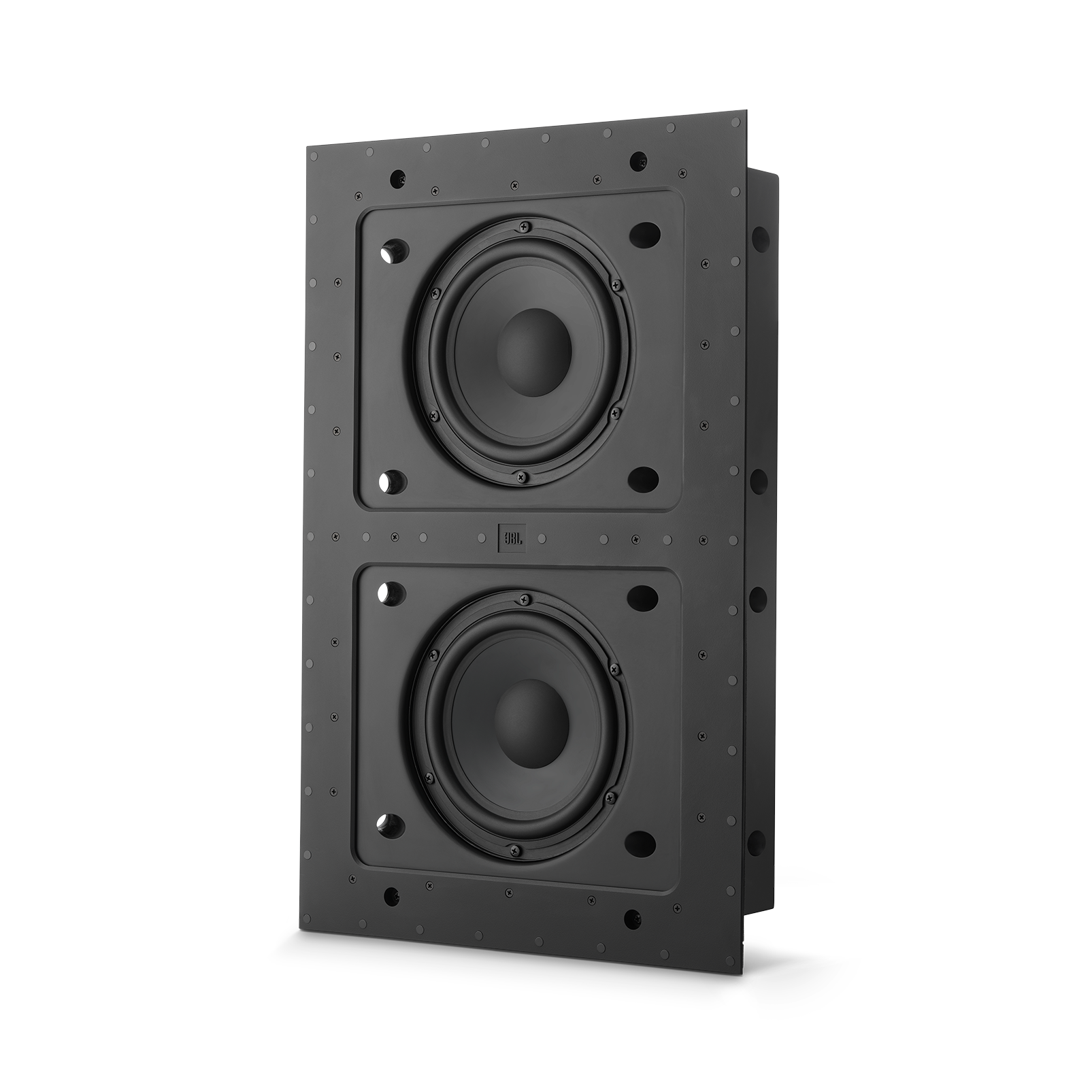 """SSW-4 - Black Matte - Dual 8"""" (200mm) In-wall Passive Subwoofer - Hero"""
