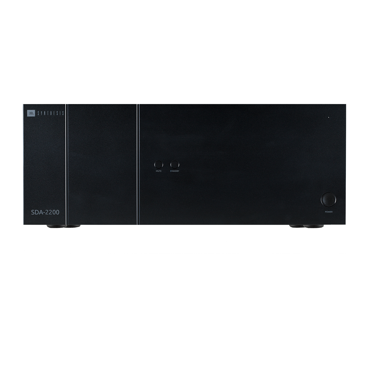 SDA-2200 - Black - Class G Two Channel Amplifier With Dante - Hero
